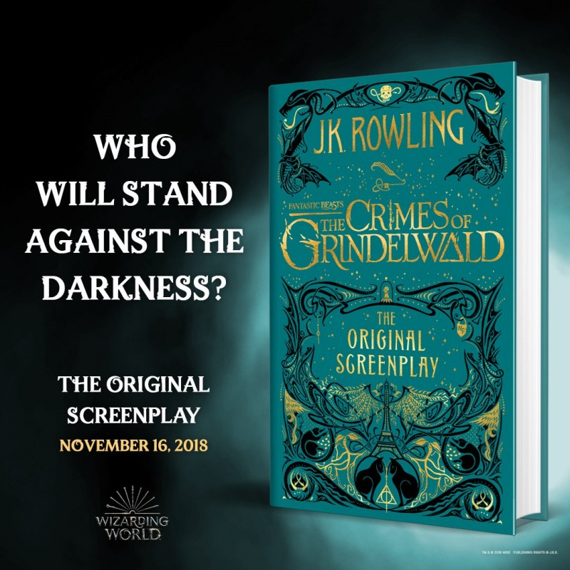 Fantastic Beasts: The Crimes of Grindelwald By J.K. Rowling