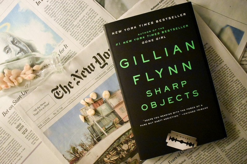 Sharp Objects A Novel By Gillian Flynn