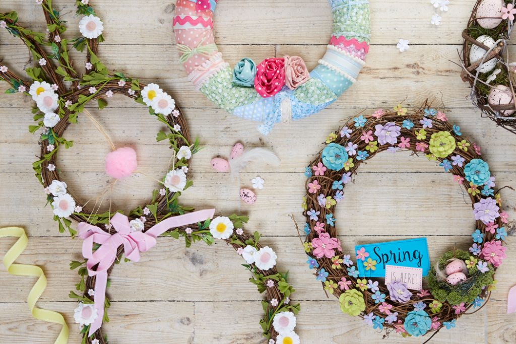 13 DIY Easter Wreaths You'll Want To Keep Up All Spring